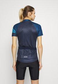 Gore Wear - TRIKOT - T-Shirt print - orbit blue/deep water blue - 2
