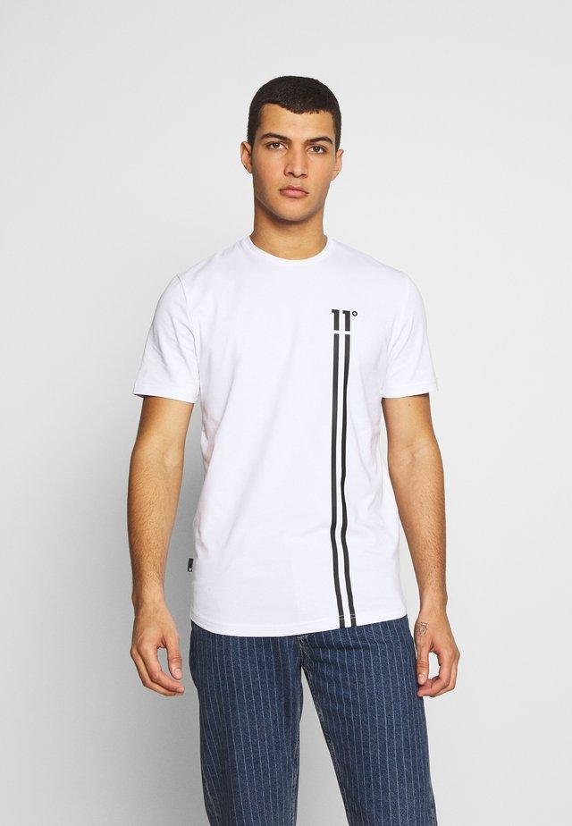 STRIPE LOGO  - Camiseta estampada - white