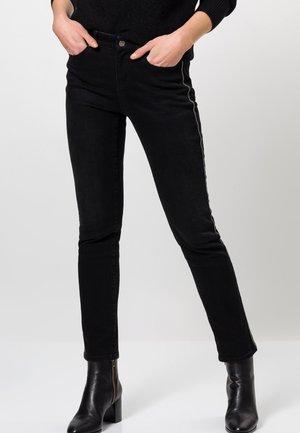 Slim fit jeans - black wash out