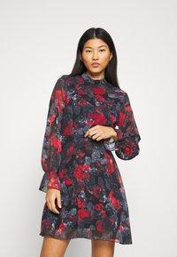 Trendyol - SIYAH - Day dress - multi color - 0