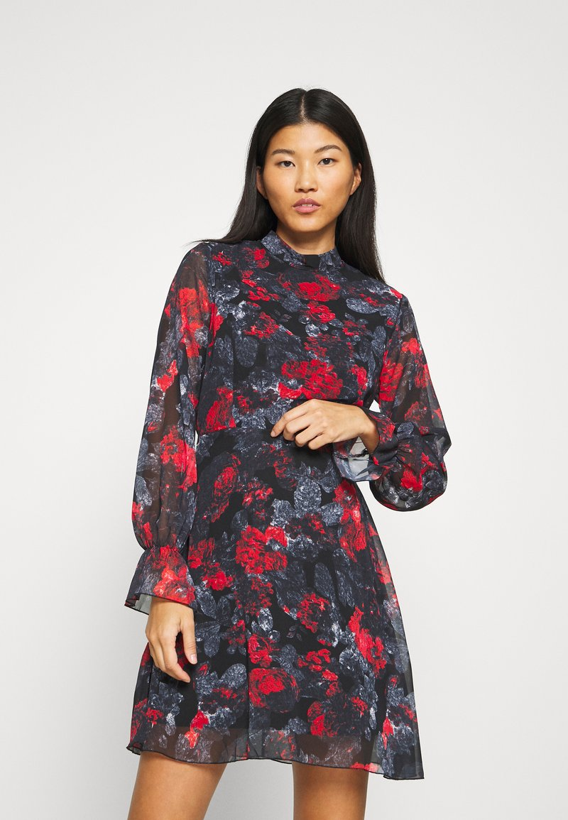 Trendyol - SIYAH - Day dress - multi color