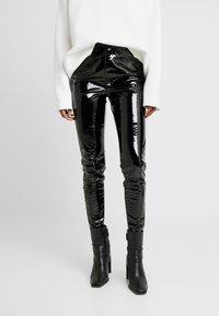 Topshop Tall - PIPER - Pantalones - black - 0