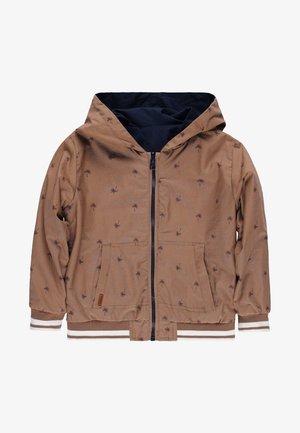 REVERSIBEL  - Zip-up hoodie - beige