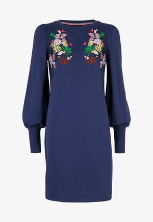 ROMONA - Day dress - marineblau