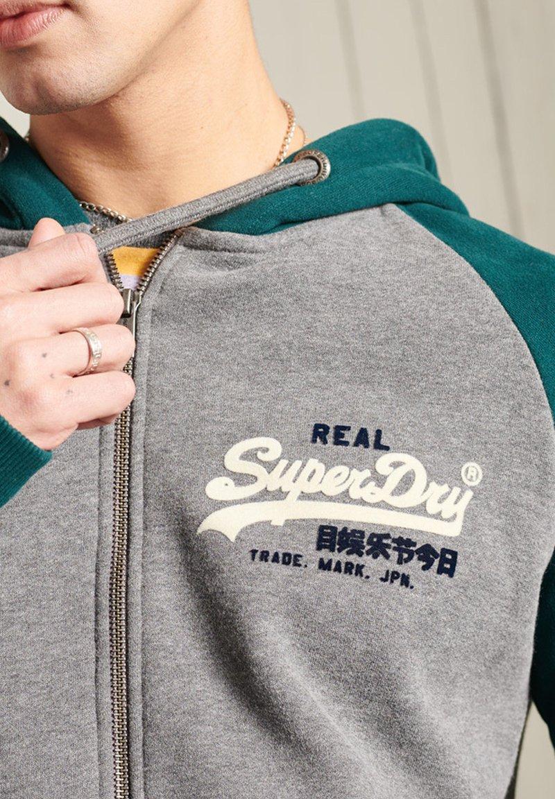 Superdry - Zip-up hoodie - dark grey
