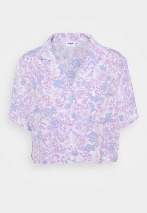 CROPPED SUMMER - Print T-shirt - lilac