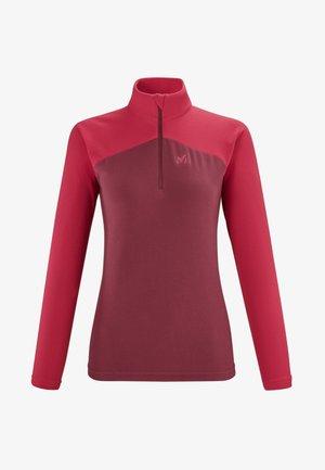 LIGHTGRID - Sweatshirt - rouge