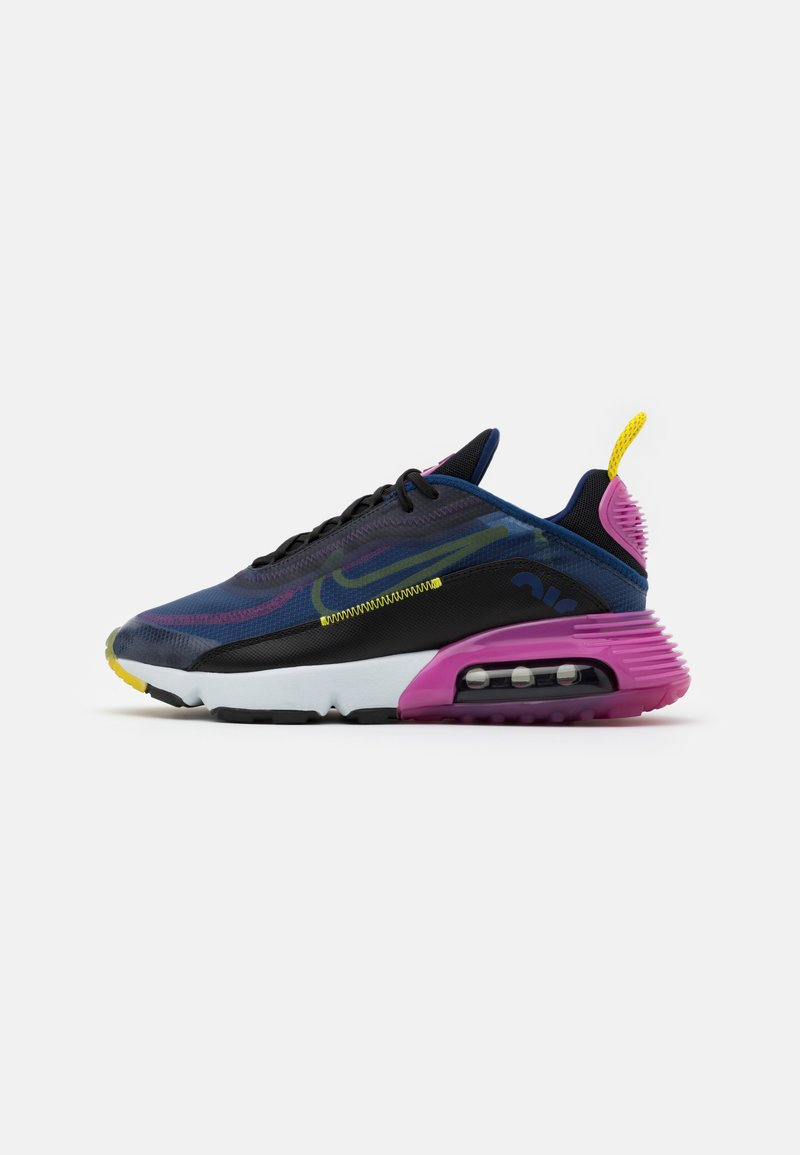 Nike Sportswear - AIR MAX 2090 - Sneakers - deep royal blue/black/active fuchsia/chrome yellow