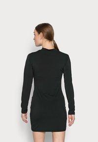 Even&Odd Petite - Denimové šaty - black - 2