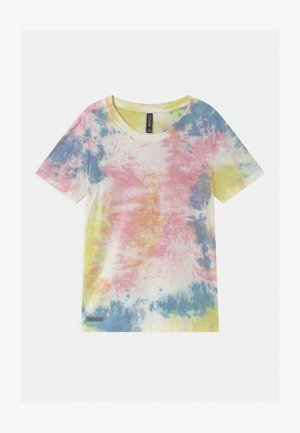 GIRLS - T-shirt print - pink/blue