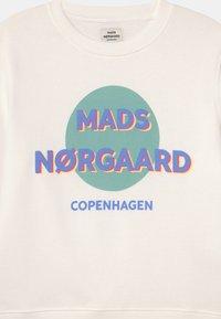 Mads Nørgaard - ORGANIC TALINKA UNISEX - Sweatshirt - white alyssum - 2