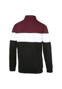 Puma - Sweatshirt - black-tawny port-white - 1