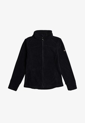 Fleece jacket - true black