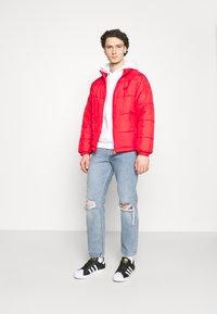 adidas Originals - PAD STAND PUFF - Winter jacket - scarlet - 1