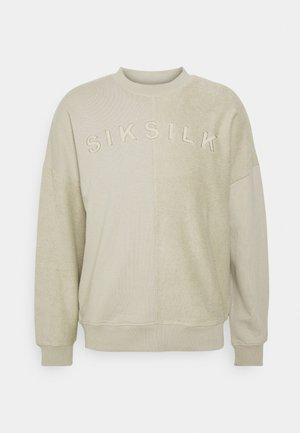 HALF CREW - Sweater - stone