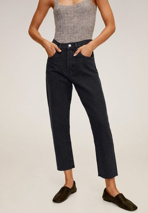 HAVANA - Jeansy Straight Leg - black denim