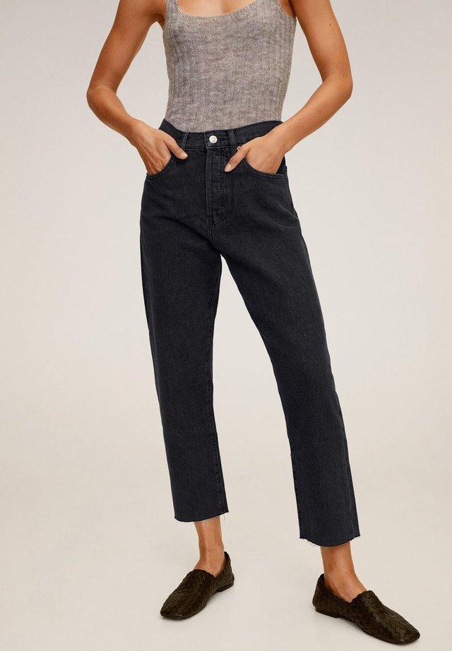 HAVANA - Straight leg jeans - black denim