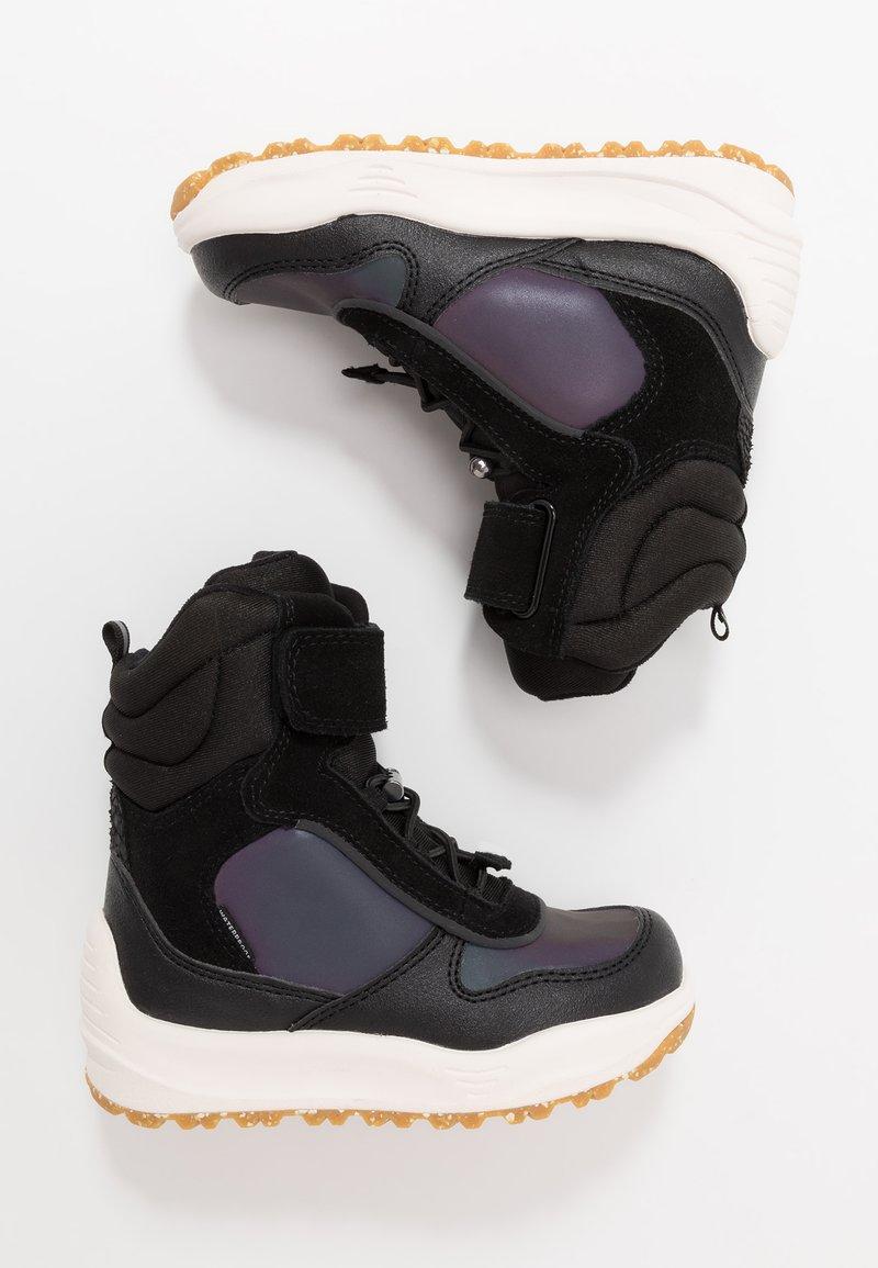 Woden - ALEX MIDCUT - Stivali da neve  - black