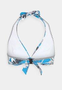 Esprit - TULUM BEACH - Bikini top - blue - 7
