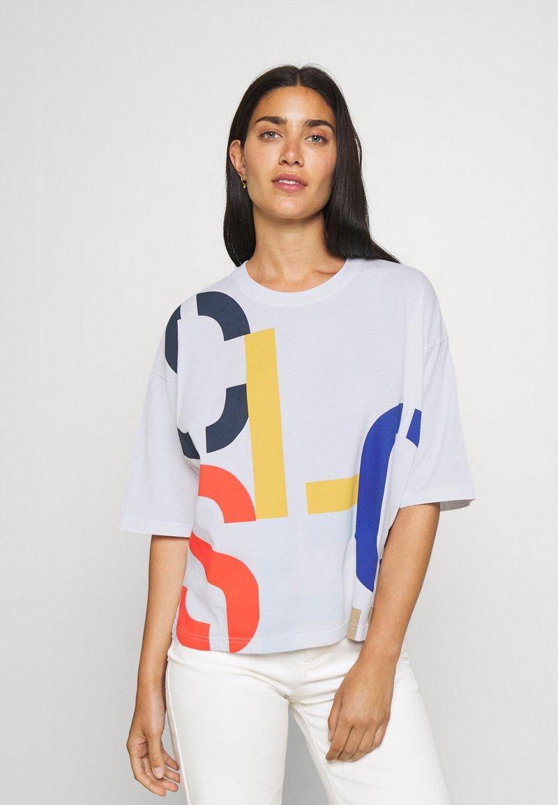 CLOSED - WOMEN´S - Print T-shirt - white