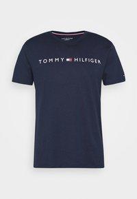 Tommy Hilfiger - TEE LOGO - Pyjamashirt - blue - 3
