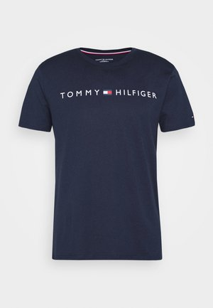TEE LOGO - Pyjama top - blue