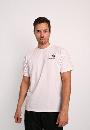 FELTON  - Basic T-shirt - wht/nvy