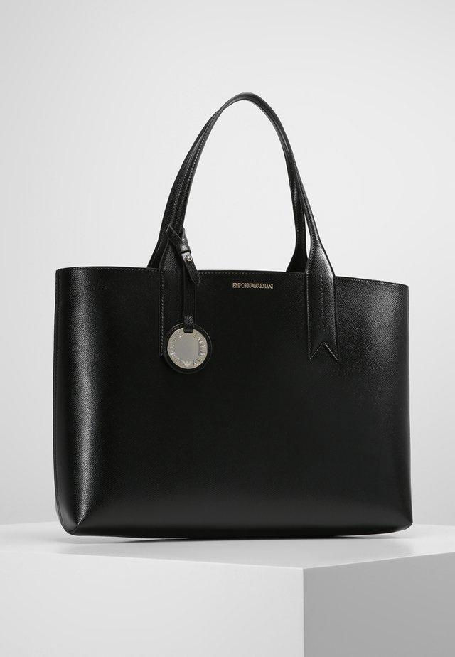 Handtasche - nero/rosso