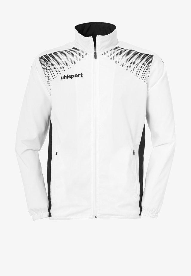 Training jacket - weiß / schwarz