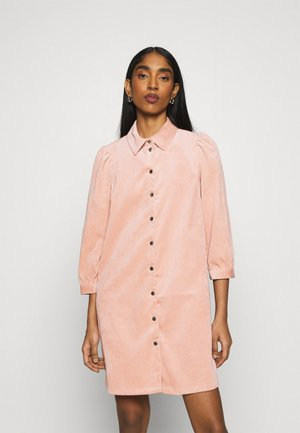 ONLRILLA PUFF DRESS - Shirt dress - misty rose