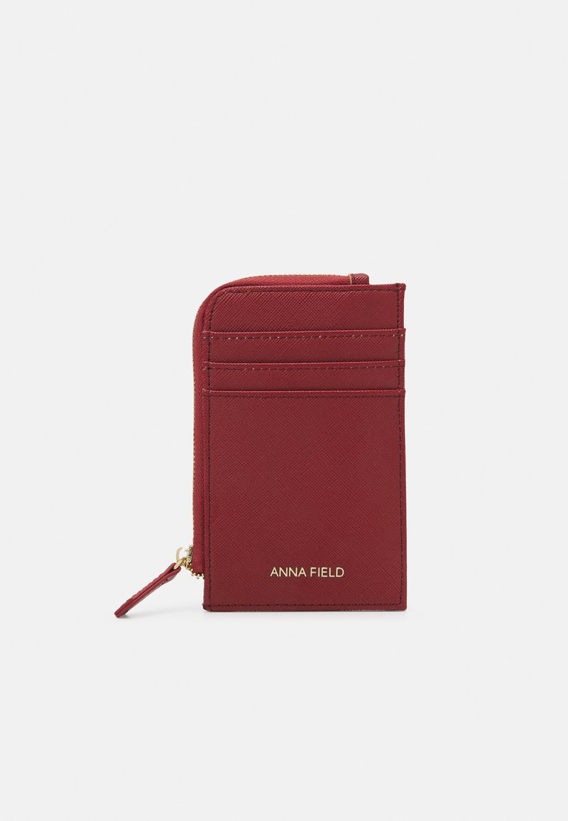 Anna Field - Wallet - dark red