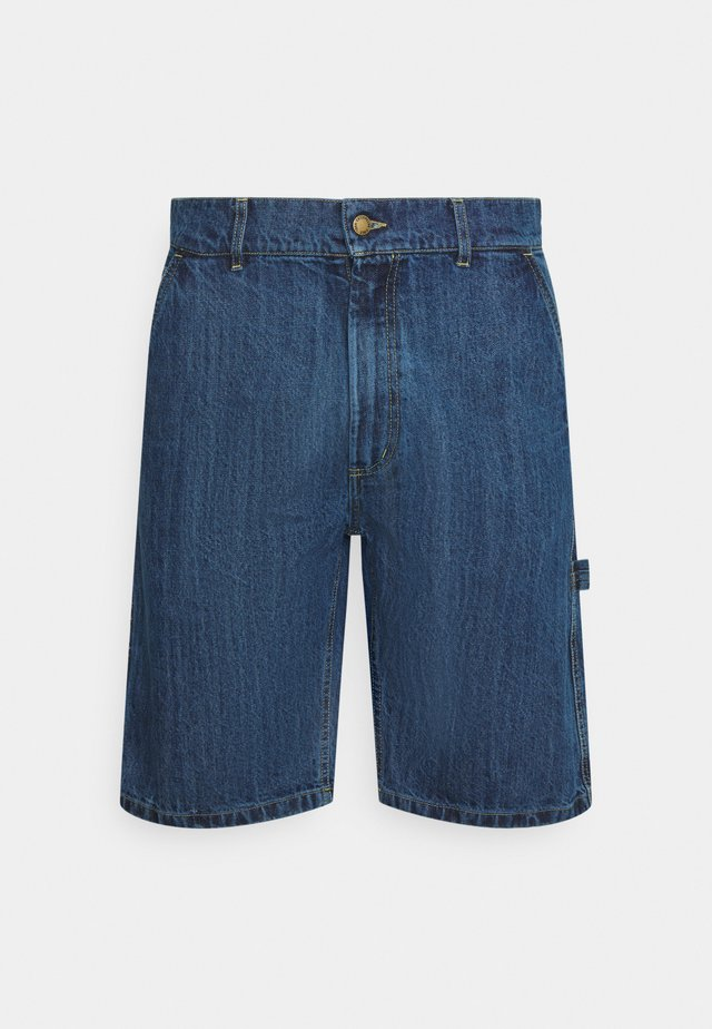 MARYLAND WORKWEAR - Shorts di jeans - light blue