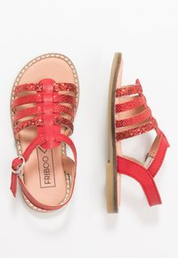 Friboo - LEATHER - Sandály - red - 0
