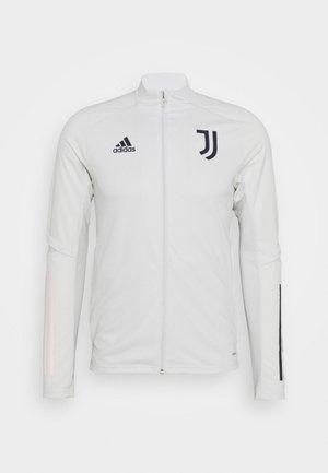JUVENTUS SPORTS FOOTBALL TRACKSUIT JACKET - Fanartikel - grey/legend ink