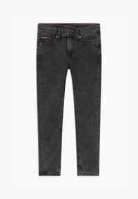 Tommy Hilfiger - SIMON SKINNY - Jeans Skinny Fit - black denim - 0