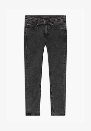 SIMON SKINNY - Jeans Skinny Fit - black denim