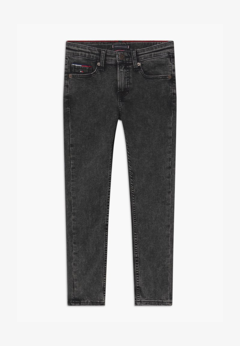 Tommy Hilfiger - SIMON SKINNY - Jeans Skinny Fit - black denim