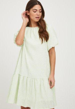 DR - Day dress - pale aqua check