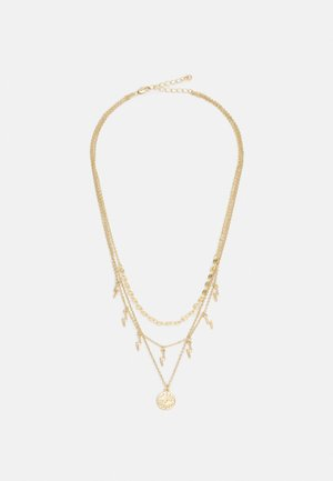 COMBI NECKLACE - Necklace - gold-coloured