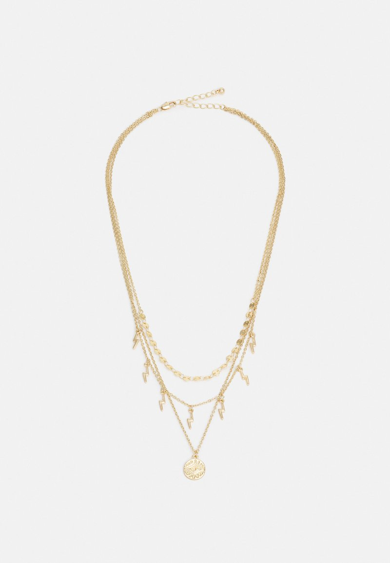 Fire & Glory - COMBI NECKLACE - Necklace - gold-coloured