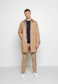 Viggo - OSTFOLD TROUSER - Kalhoty - brown - 1