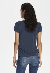 Soaked in Luxury - Basic T-shirt - navy - 2