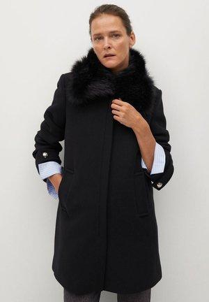 ARTETA - Wollmantel/klassischer Mantel - schwarz