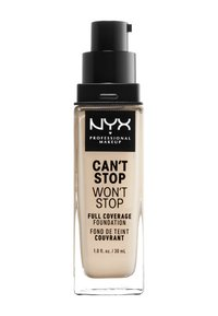 Nyx Professional Makeup - CAN'T STOP WON'T STOP FOUNDATION - Foundation - 1 pale - 1