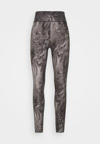 Abercrombie & Fitch - WELLNESS - Leggings - Trousers - grey marble wash - 5