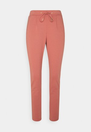 DECO PANTS - Trousers - canyon rose