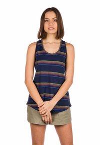 Kazane - VIVECA  - Top - dress blue/stripe - 0