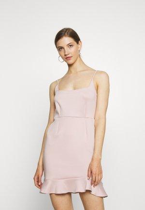 Žerzejové šaty - rose dust