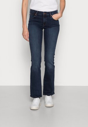 BOOTCUT - Jean bootcut - tainted blue