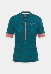 Mons Royale - CADENCE HALF ZIP - T-Shirt print - forest alchemy - 0